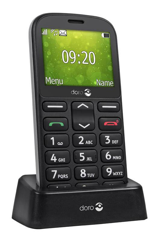 Mobile SENIOR DORO 1350 noir (photo)