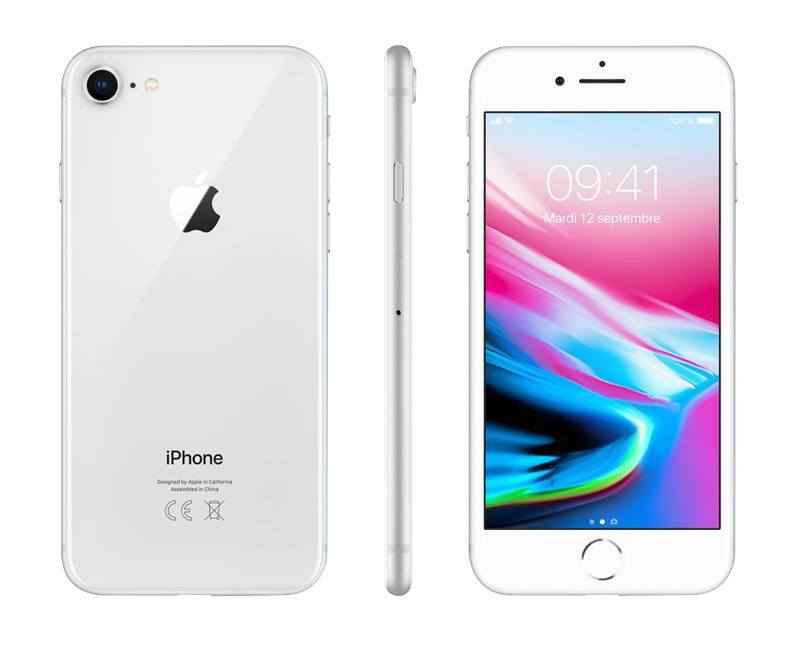 APPLE IPHONE 8 64GO ARGENT GRADE A+