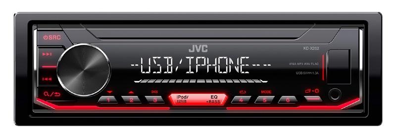 Autoradio JVC KD-X252 (photo)