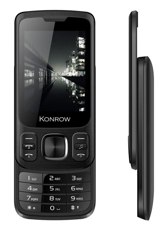 Mobile KONROW Slider noir (photo)