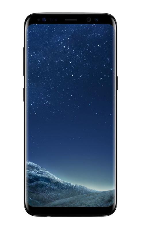 Smartphone SAMSUNG GALAXY S8 64 Go noir reconditionne GRADE A+ (photo)