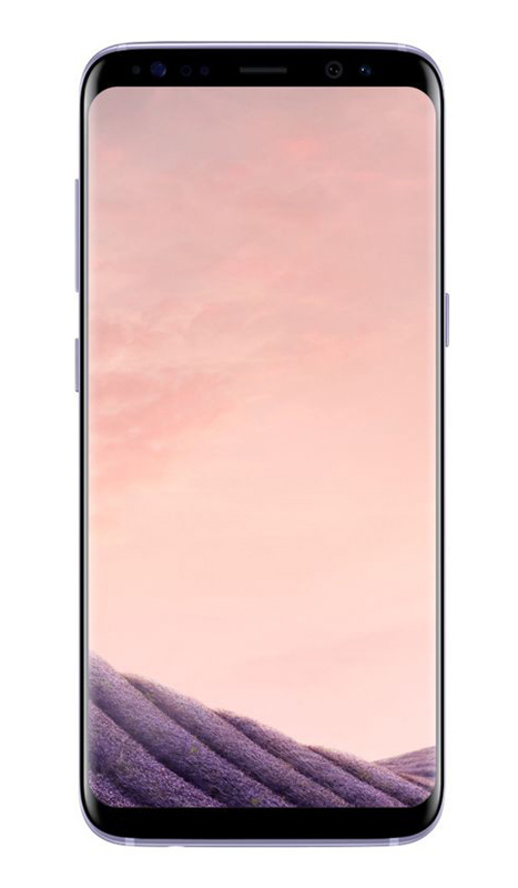 Smartphone SAMSUNG GALAXY S8 64Go orchidee reconditionne GRADE A+