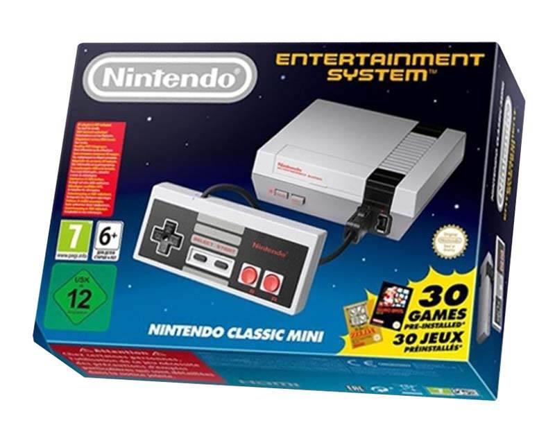 Console de jeux NINTENDO NES MINI (photo)