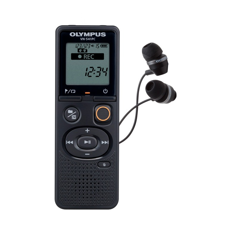 Dictaphone OLYMPUS VN 541 PC + Écouteurs (photo)