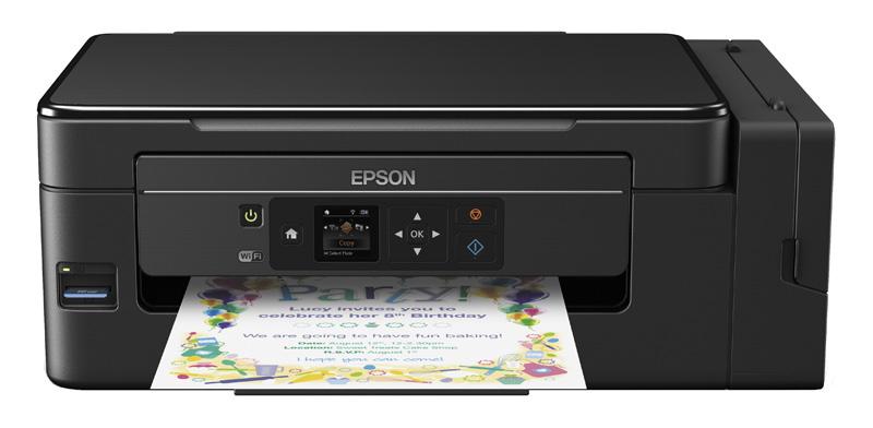 Imprimante 3 en 1 EPSON Ecotank ET-2650 ultra economique (photo)