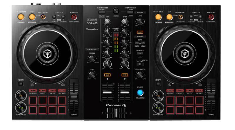 Controleur USB PIONEER DJ DDJ-400 (photo)