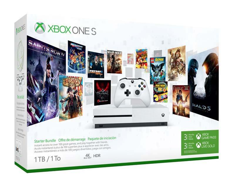 Console de jeux XBOX ONE S 1 TO 3 mois GAMEPASS offerts (photo)