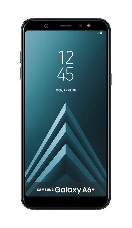 Smartphone GALAXY SAMSUNG A6+ 6 FHD+ noir (photo)