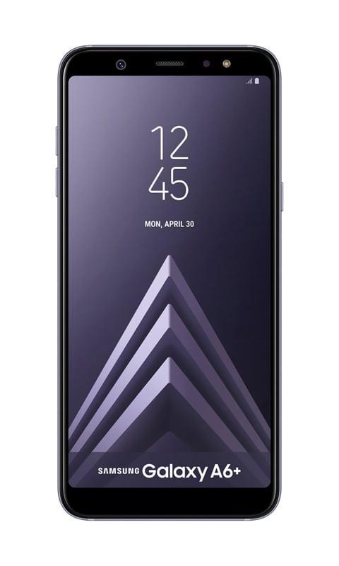 Smartphone SAMSUNG GALAXY A6+ 6 FHD+ bleu silver (photo)
