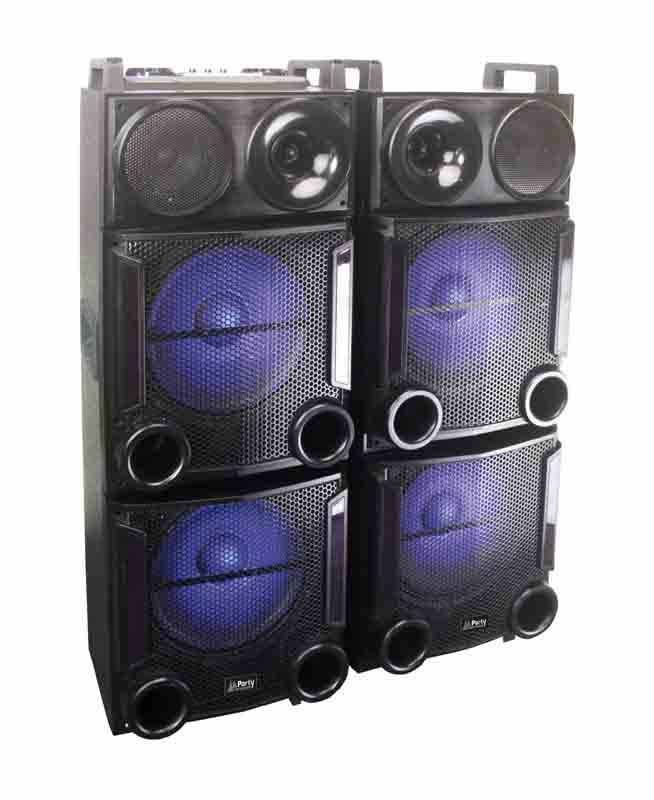 Enceinte Amplifiee BOOST PARTY POWER412 (photo)