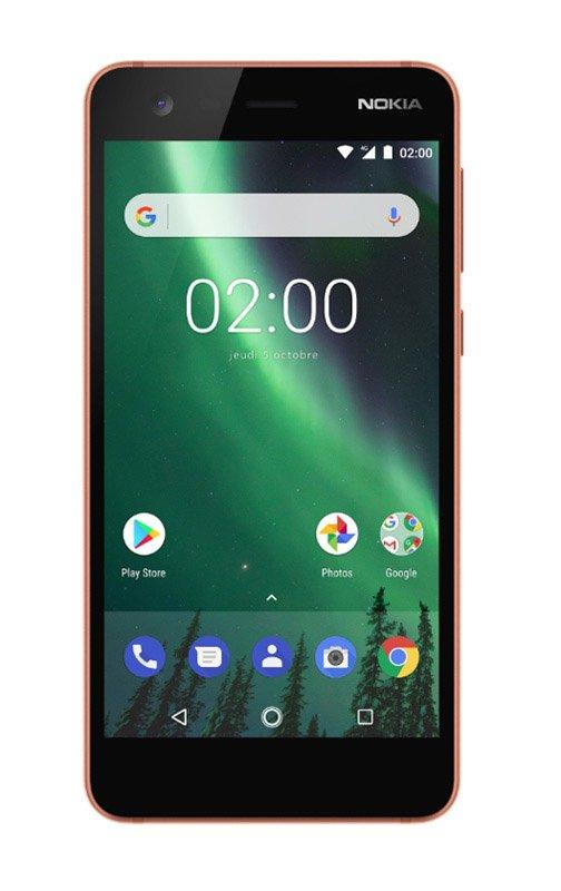 Smartphone NOKIA 2 HD 4G Copper