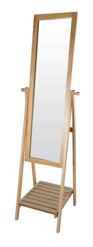Miroir sur pieds + tablette (photo)