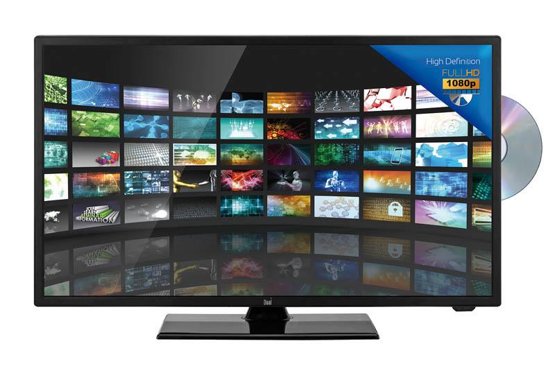 TV LED DUAL DL-24FHD12VC-001 Combo DVD 12V