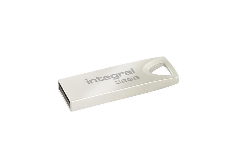 Cle USB metal 32 Go INTEGRAL USB 2.0 ARC (photo)