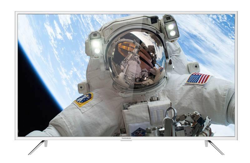 TV UHD 4K THOMSON 49UD6206W Connecte Blanc (photo)