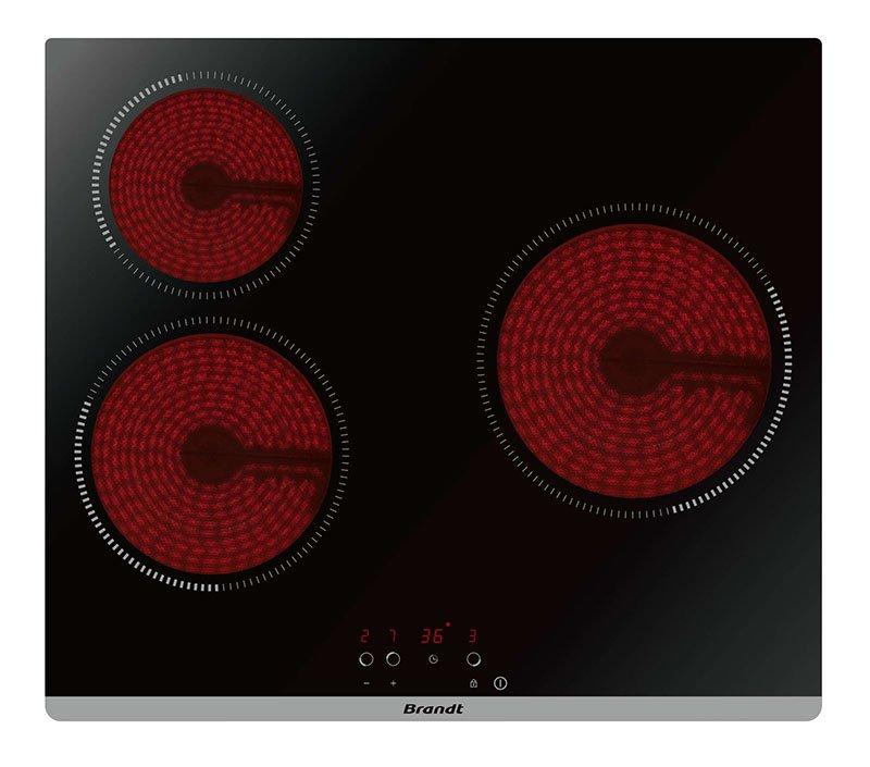 Table vitroceramique BRANDT BPV 6320 B (photo)