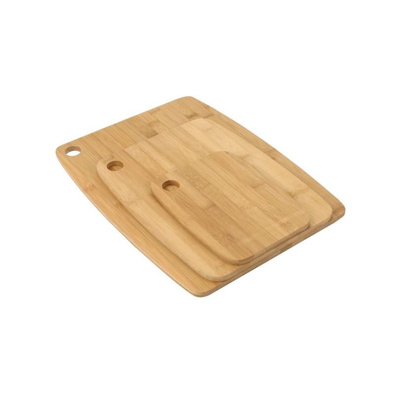 Set de 3 Planche à decouper bambou
