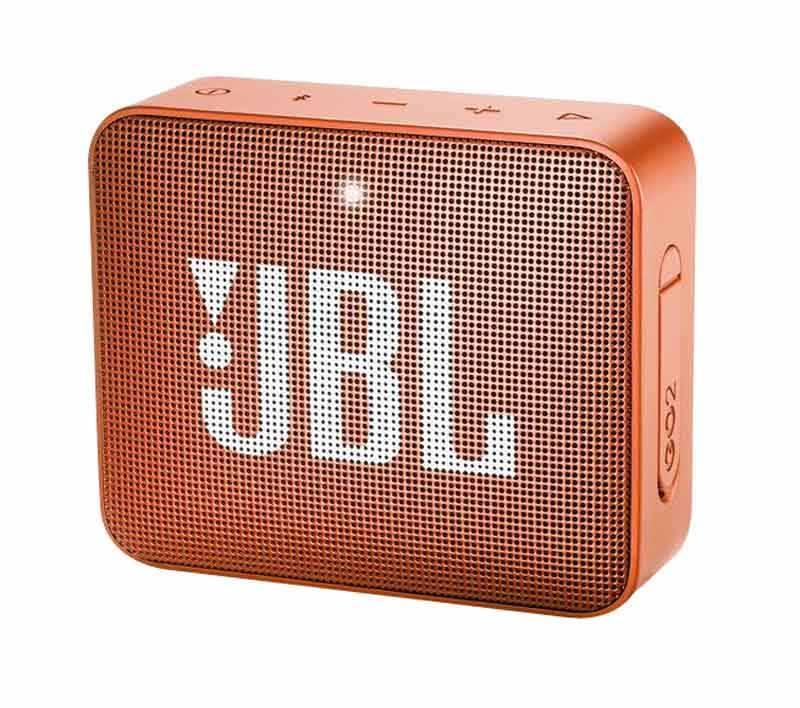 Enceinte JBL GO 2 ORANGE (photo)