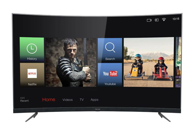 TV UHD 4K THOMSON 55UD6676 INCURVEE SMART WIFI (photo)
