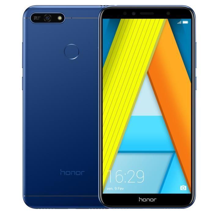 Smartphone HONOR 7A 5.7 HD+ bleu (photo)