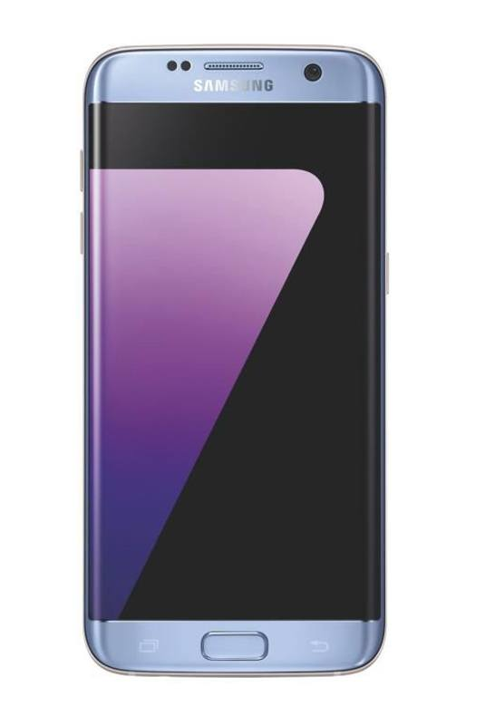 Smartphone SAMSUNG GALAXY S7 edge 32 Go bleu reconditionne grade A+