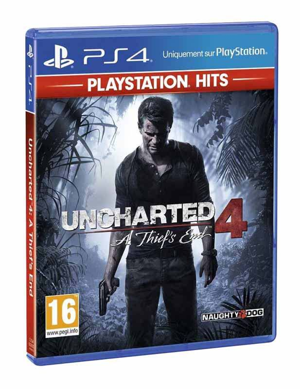 Jeu video PS4 UNCHARTED 4 (photo)