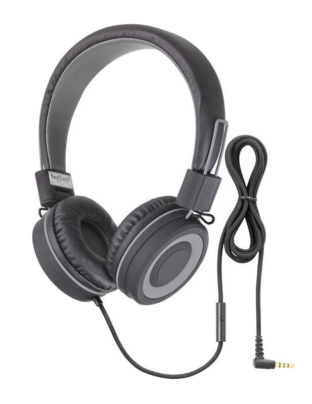 Casque micro KEYOUEST URBAN noir/gris (photo)