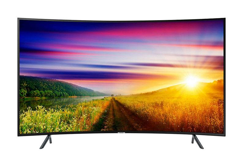 TV UHD 4K SAMSUNG 55NU7305 Curve Smart (photo)