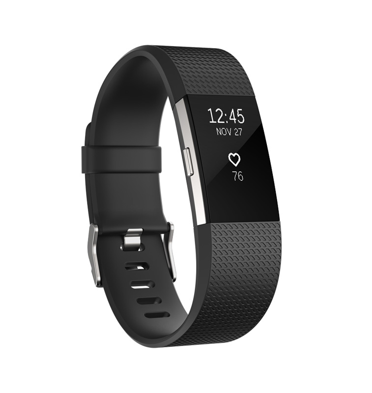 Bracelet d'Activite FITBIT CHARGE 2 TAILLE L (photo)