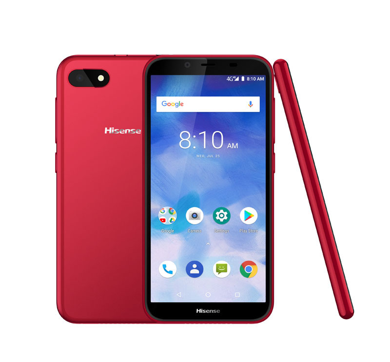 SMARTPHONE HISENSE F17 3G+ rouge (photo)