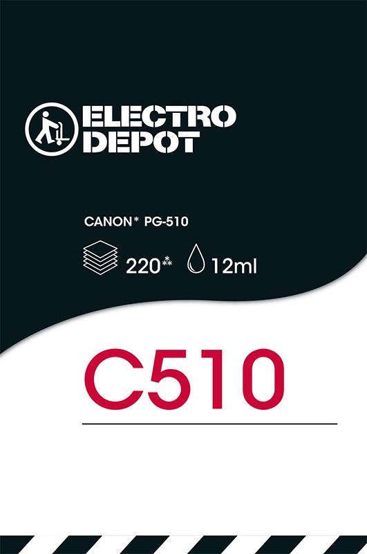 Cartouche compatible CANON C510 ELECTRO DÉPÔT (photo)