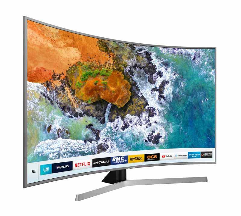 TV UHD 4K SAMSUNG UE49NU7655 incurvee Smart (photo)
