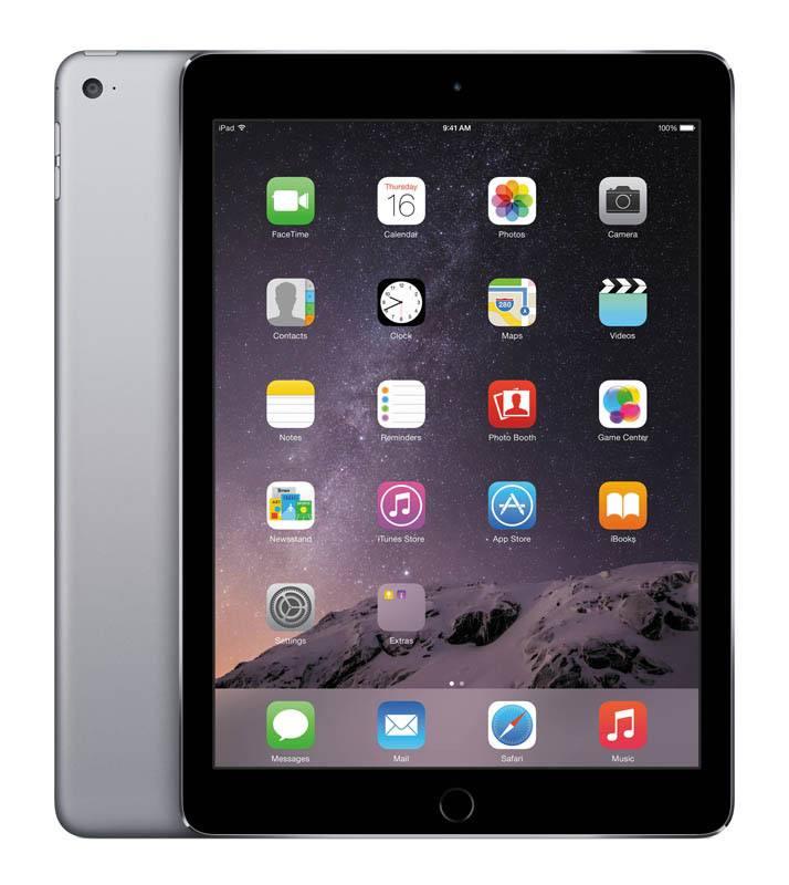 APPLE iPad Air 2 64 Go grey CPO Reconditionne Certifie Apple (photo)