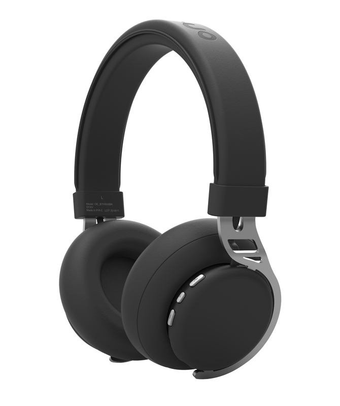 Casque bluetooth ON.EARZ BTHS05 noir (photo)