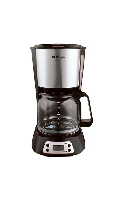 Cafetière filtre programmable COSYLIFE CL-PRG27 (photo)