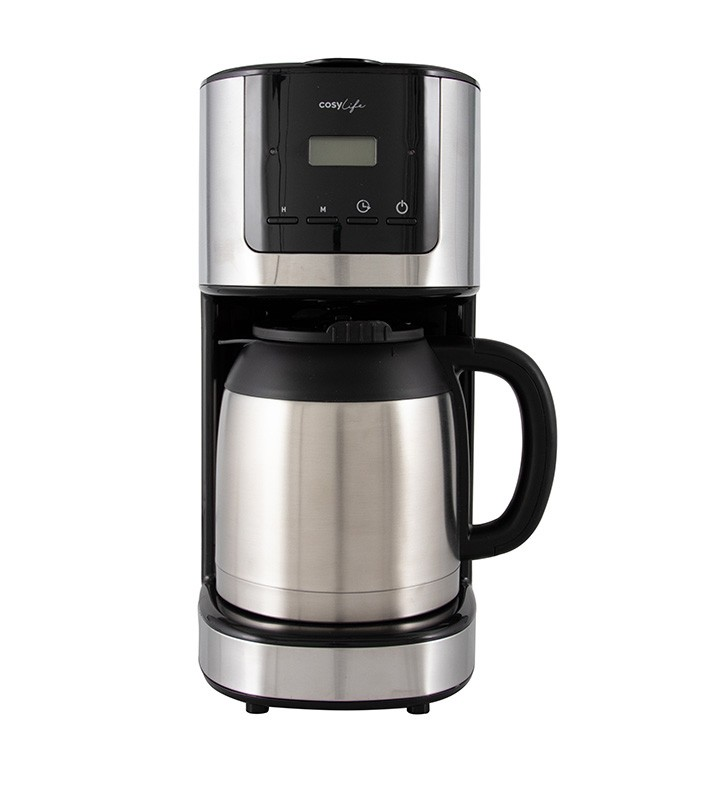 Cafetière filtre isotherme programmable COSYLIFE CL-THPRG4BX (photo)