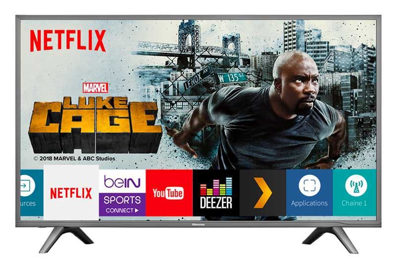 TV UHD 4K HISENSE 43NEC5600 Smart Wifi (photo)