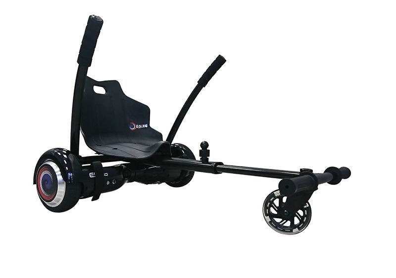 Kart Hoverboard E-SLIDE noir (photo)