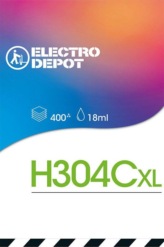 Cartouche d'encre compatible HP ELECTRO DÉPÔT 304 XL 3 couleurs (photo)