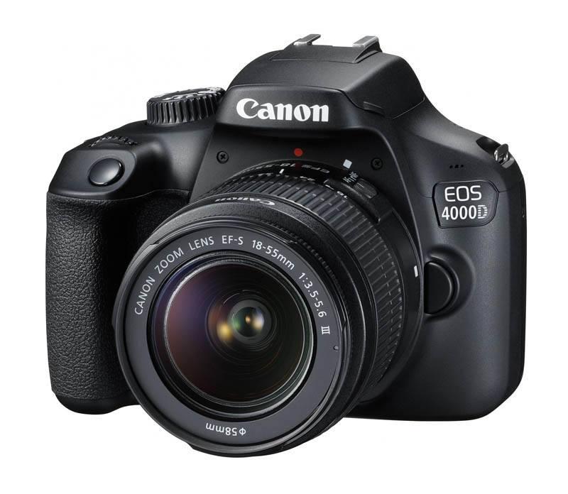 Appareil photo numerique reflexe CANON EOS 4000D 18-55 DC III