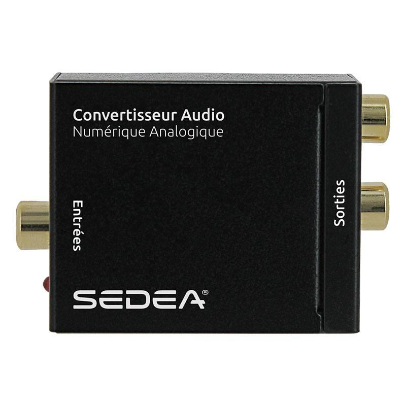 Adaptateur Sedea Optique Coaxial/rca (photo)