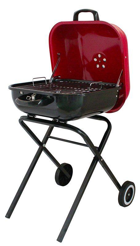 Barbecue charbon pliable 40x42 cm