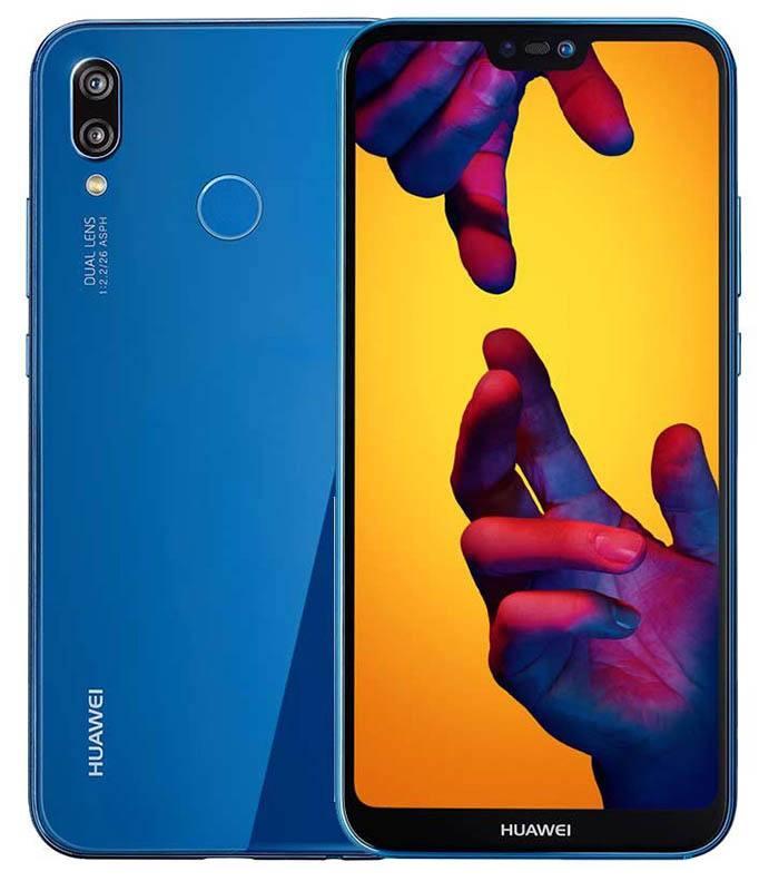 SMARTPHONE HUAWEI P20 Lite Full HD+ bleu (photo)