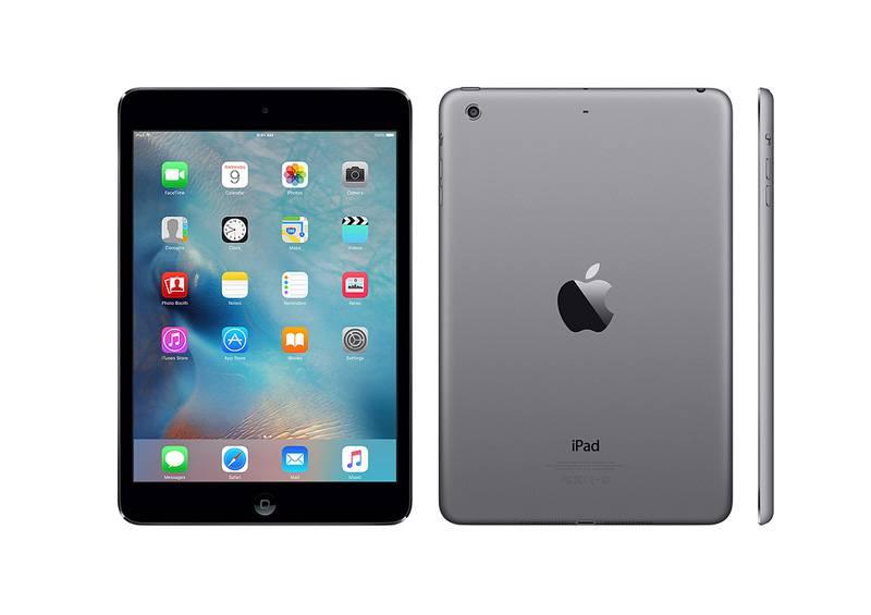 APPLE iPad MINI 2 16 go noir reconditionne grade A+ (photo)