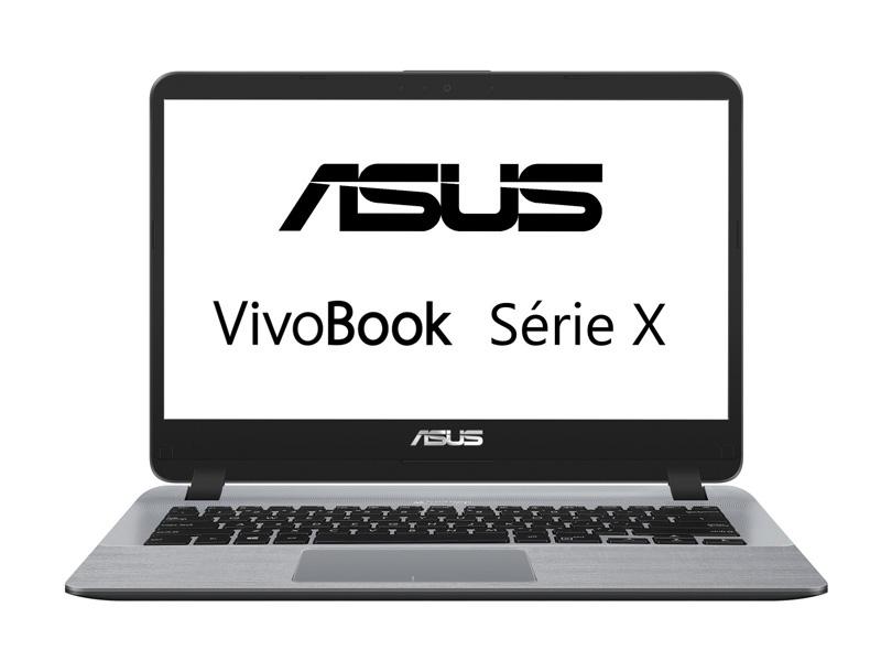 Ordinateur portable 14 ASUS X407UA i7/4Go/128Go SSD (photo)