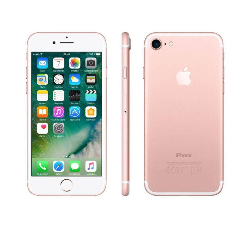 APPLE iPhone 7 32 Go Pink Gold reconditionne grade A+ (photo)