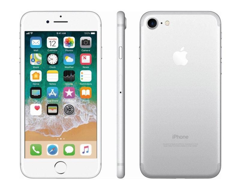 APPLE iPhone 7 32 Go Silver reconditionne grade A+ (photo)