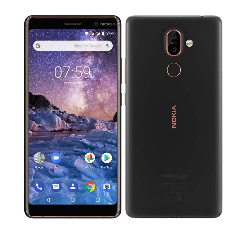 Smartphone NOKIA 7 Plus 64 Go noir (photo)
