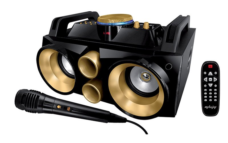 Enceinte Amplifiee MYDEEJAY NOMAD 300 GOLD (photo)