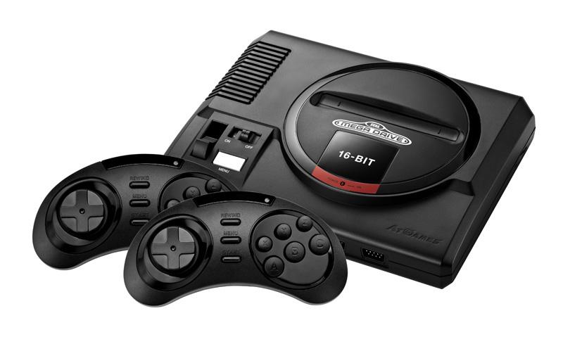 Console retrogaming AT GAMES SEGA MEGADRIVE FLASHBACK (photo)